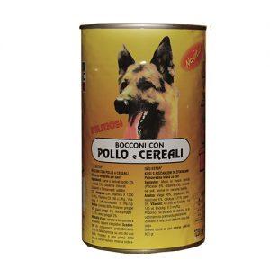 ester pollo e cereali per cane