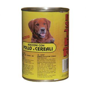 pollo e cereali per cane