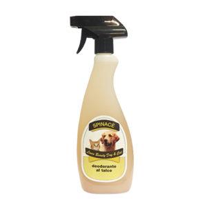 deodorante al talco per cane e gatto