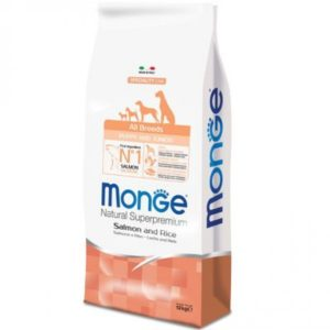monge all breeds puppy salmone e riso